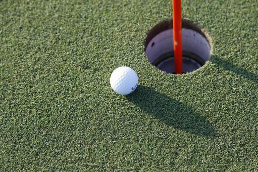 Golf course green 16