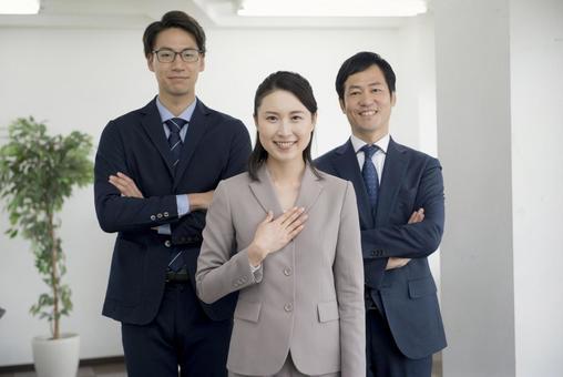 Men and women of suit 40