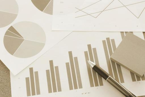 Business materials Sepia