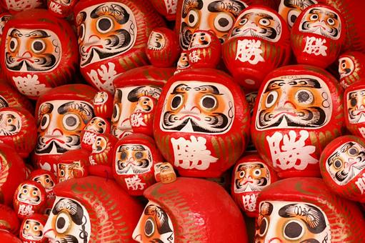 Daruma of the temple