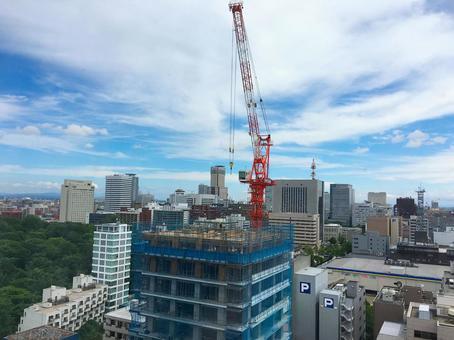 Building Construction Crane 2