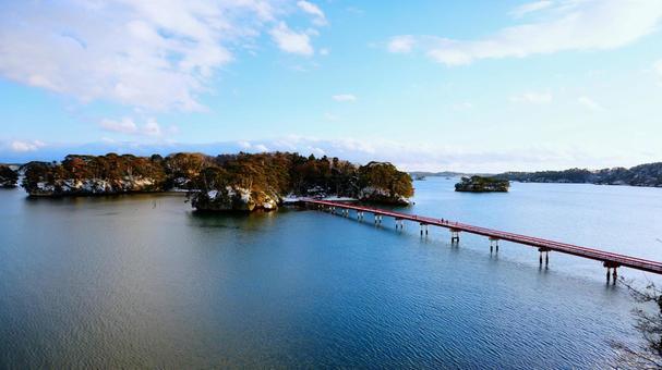 Fukuura Bridge over Matsushima and Fukuura Island