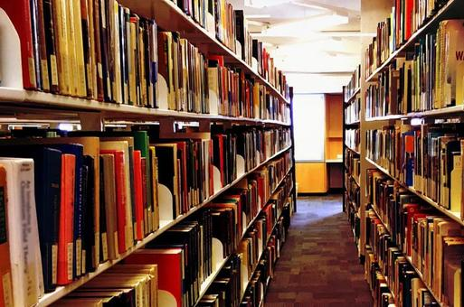 A calm library