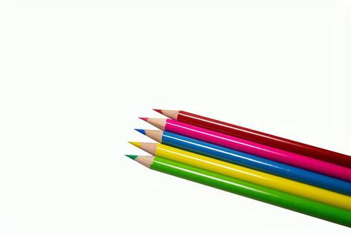 Colored pencil pencil pencil pencil design background transparent psd