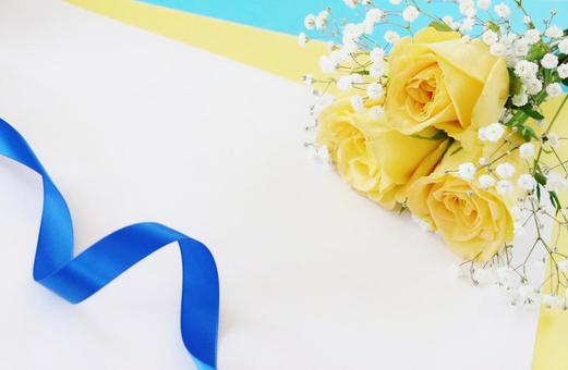 Yellow rose texture