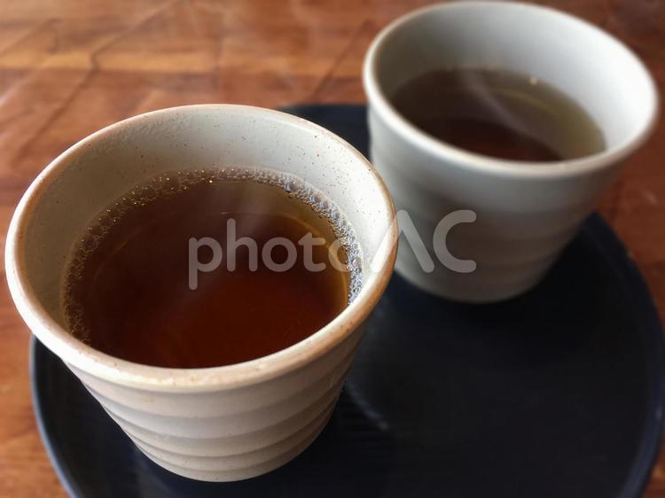 ほうじ茶をどうぞの写真