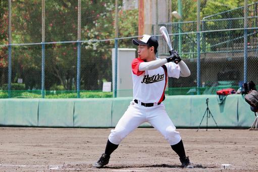 Male person baseball sports batter business