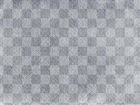 Plaid silver paper _ rough texture