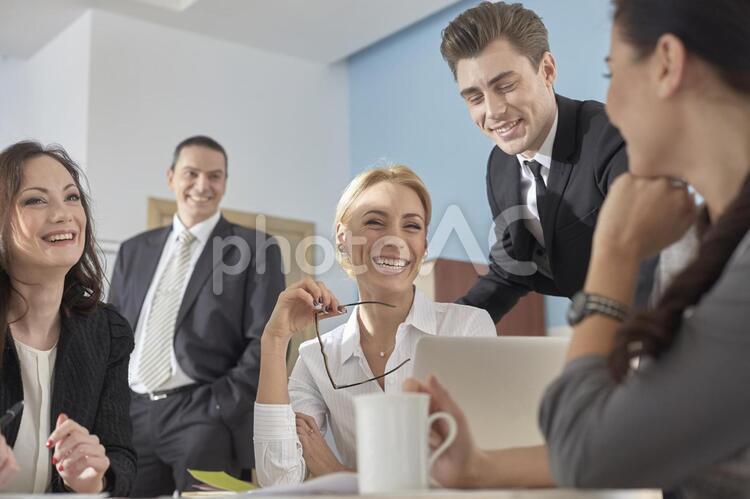 外国人ビジネスマン396の写真
