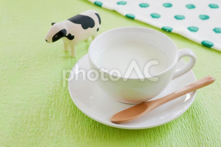 ホットミルクの写真