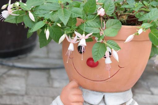 Cute flowerpot