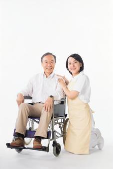 Men and nurses on a wheelchair 5