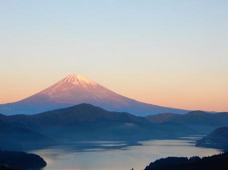 Morning Scene Project · Hakone (Mt. Fuji · Ashinoko)