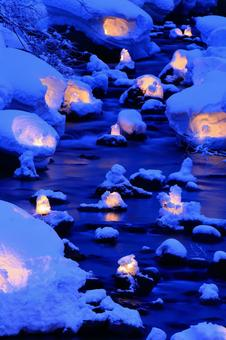 Otaru snow light path (Asuri River venue) 6