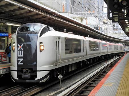 Yokohama Station Line 9 Narita Express