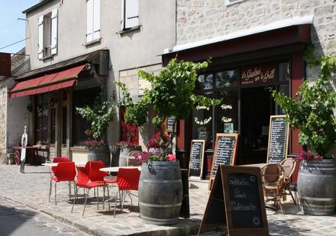 바르비종 마을 카페