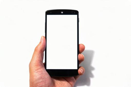 Hand with a smartphone (left hand) 1