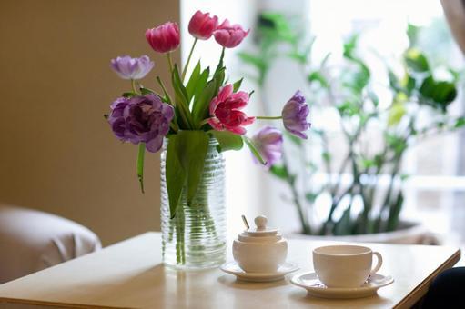Flower on table 1