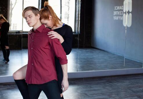 Dancing in a duet 14