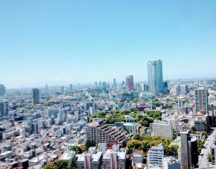 Tokyo building and sky landscape