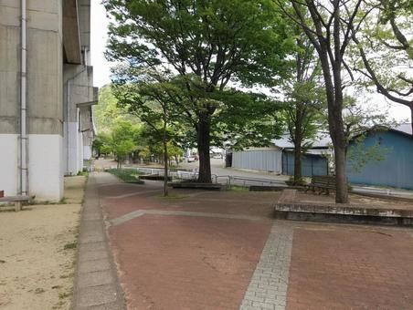 후쿠시마시 森合 신칸센 가드 공원