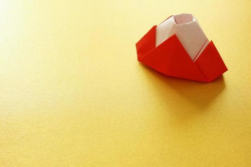 Red Fuji origami