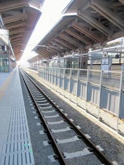 Station premises platform JR JR Kumamoto Station
