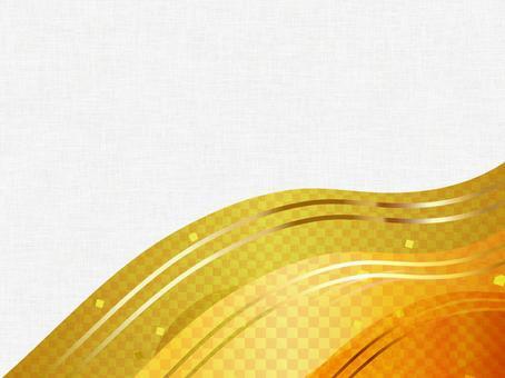 Japanese style gold background 16120801