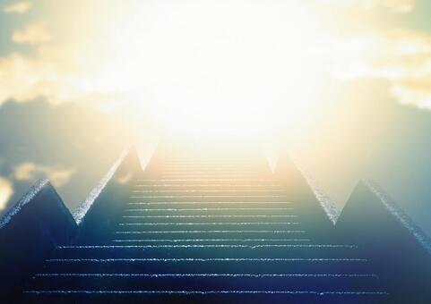 樓梯和燈光