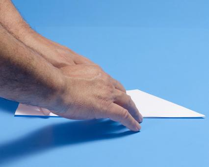 Paper flying machine 140