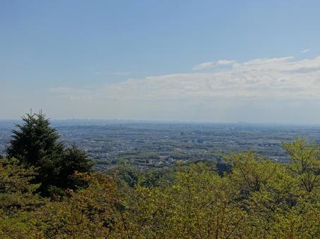 산에서 도쿄를 내려다 _ver3