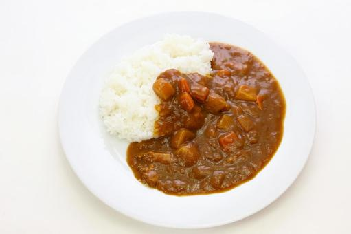 Curry and rice 2