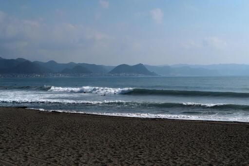 이른 아침 해변