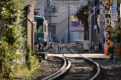 에노덴 에노시마 역 부근