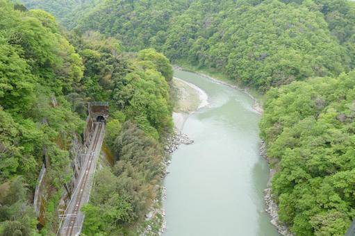 From Tenryukyo Bridge / Sora Sanpo Tenryukyo