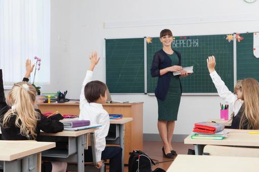 老师和小学生3类