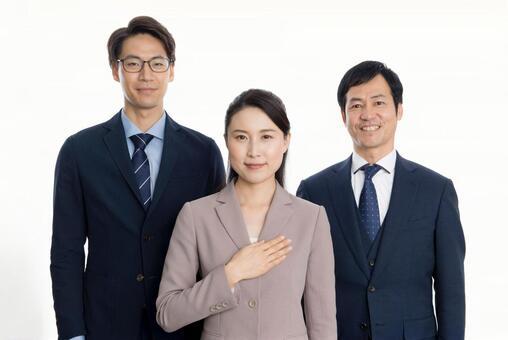 Men and women in suit 7