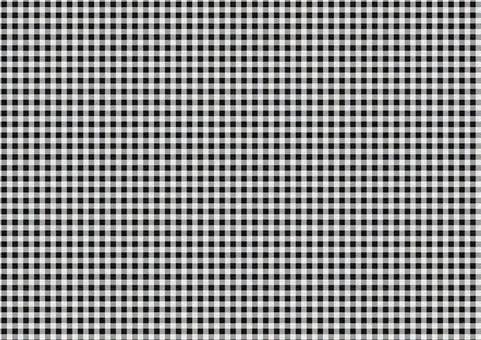 Gingham Check Texture [Campus / Black]