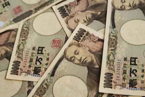 Background of the 10,000 yen note