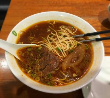 Taiwan beef 麺