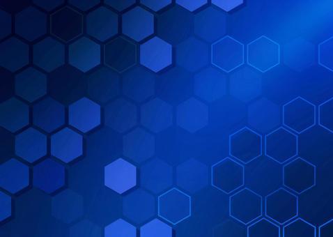 Background material Hexagon / geometric pattern