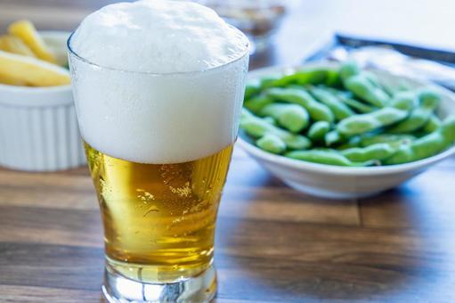 Beer at a tavern