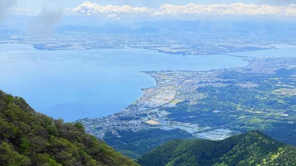 Lake Biwa (Mt. Hira)