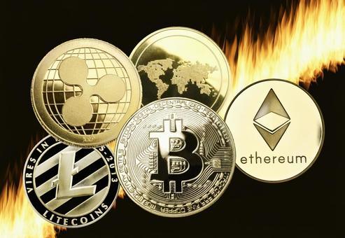 比特幣中音硬幣虛擬貨幣