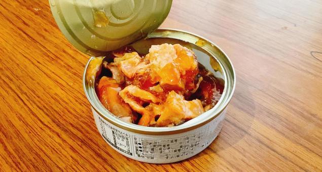 닭 꼬치 캔