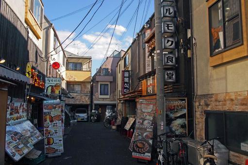新大久保韓國城帥街