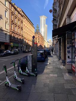 프랑크푸르트의 거리 풍경