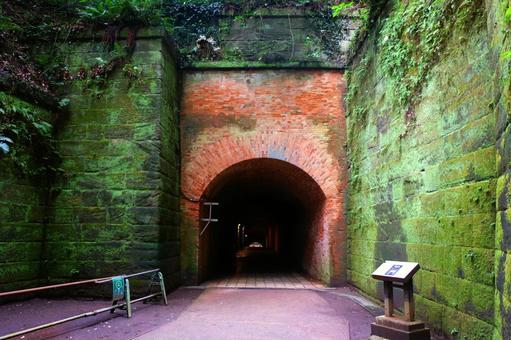 Yokosuka · Sarushima brick built tunnel entrance