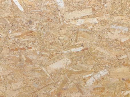 Wood grain plywood chip background material