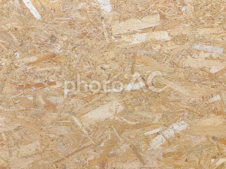 木目 合板チップ 背景素材の写真